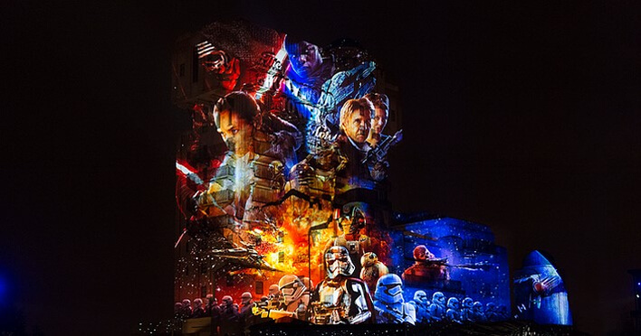 Star Wars Event Season of the Force im Disneyland