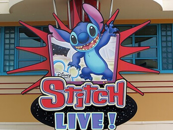 Stitch in den Walt Disney Studios