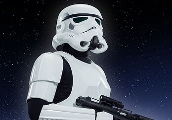 Stormtrooper Patrol im Walt Disney Studios Park