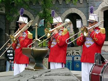 Streetmosphere im Disneyland