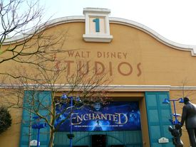 Studio 1 im Front Lot in den Walt Disney Studios