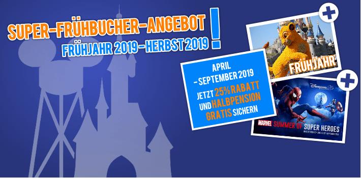 Super Frühbucher 2019