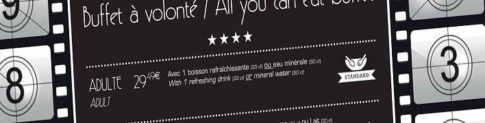 Teaser Karte Restaurant des Stars