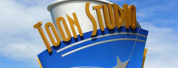 Toon Studios im Walt Disney Studios Park