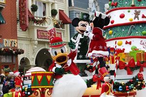 Weihnachtszeit im Disneyland Paris