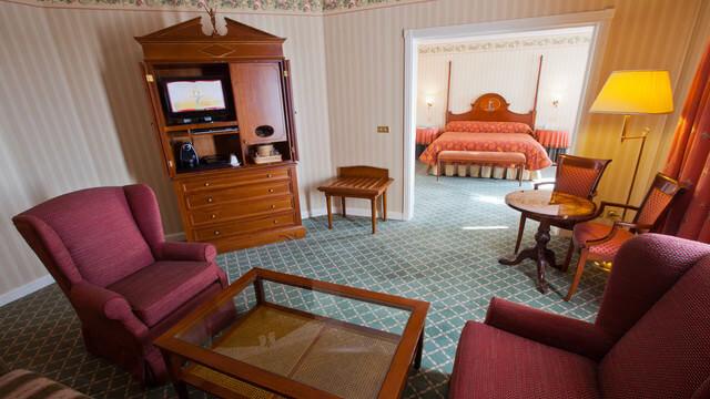 Wohnzimmer der Tinkerbell-Suite im Disneyland Hotel